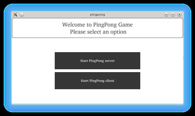 Bluetooth QML Ping Pong example   Qt Bluetooth 5 7