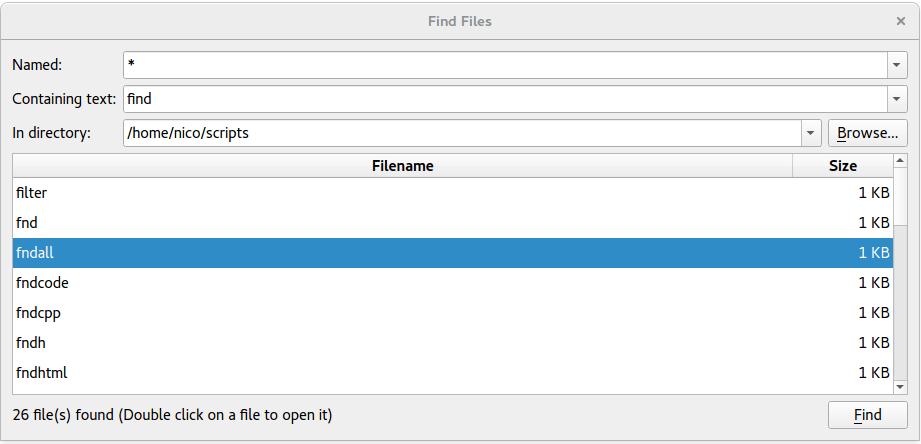 Find Files Example | Qt Widgets 5 11